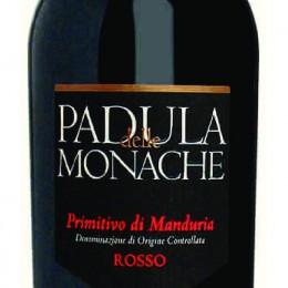 PADULA DELLE MONACHE DOC PRIMITIVO DI MANDURIA