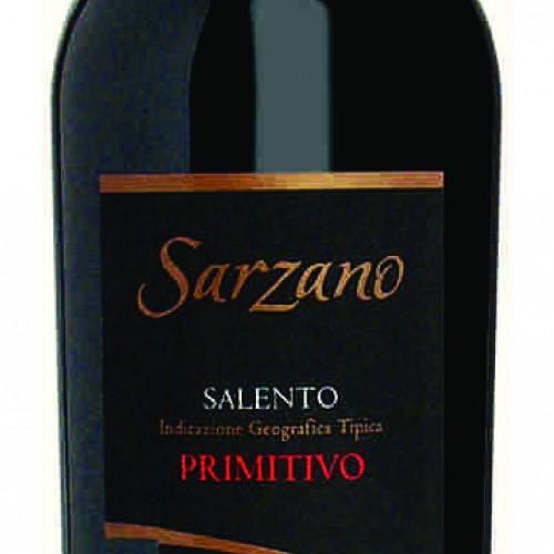 """""""SARZANO"""" SALENTO I.G.T. PRIMITIVO"""